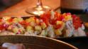 Alaskan Cod topped with Mango Salsa