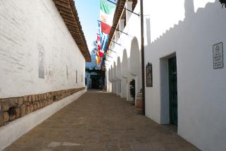 EL Paseo Spanish alley