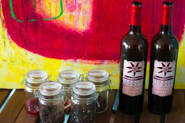 Tobin James Zinfandel & Scent Jars and Art form ACT2ART and Crushed Grape Chronicles Events