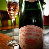 100% Pinot Noir Sparkler made in the Methode Champenoise in New Mexico!