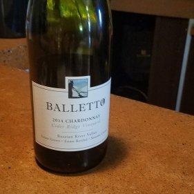 2014 Cider Ridge Chardonnay