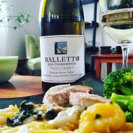 Balletto 2016 Teresa's Unoaked Chardonnay and pairing