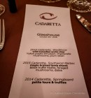Cadaretta Menu by Olive Catering