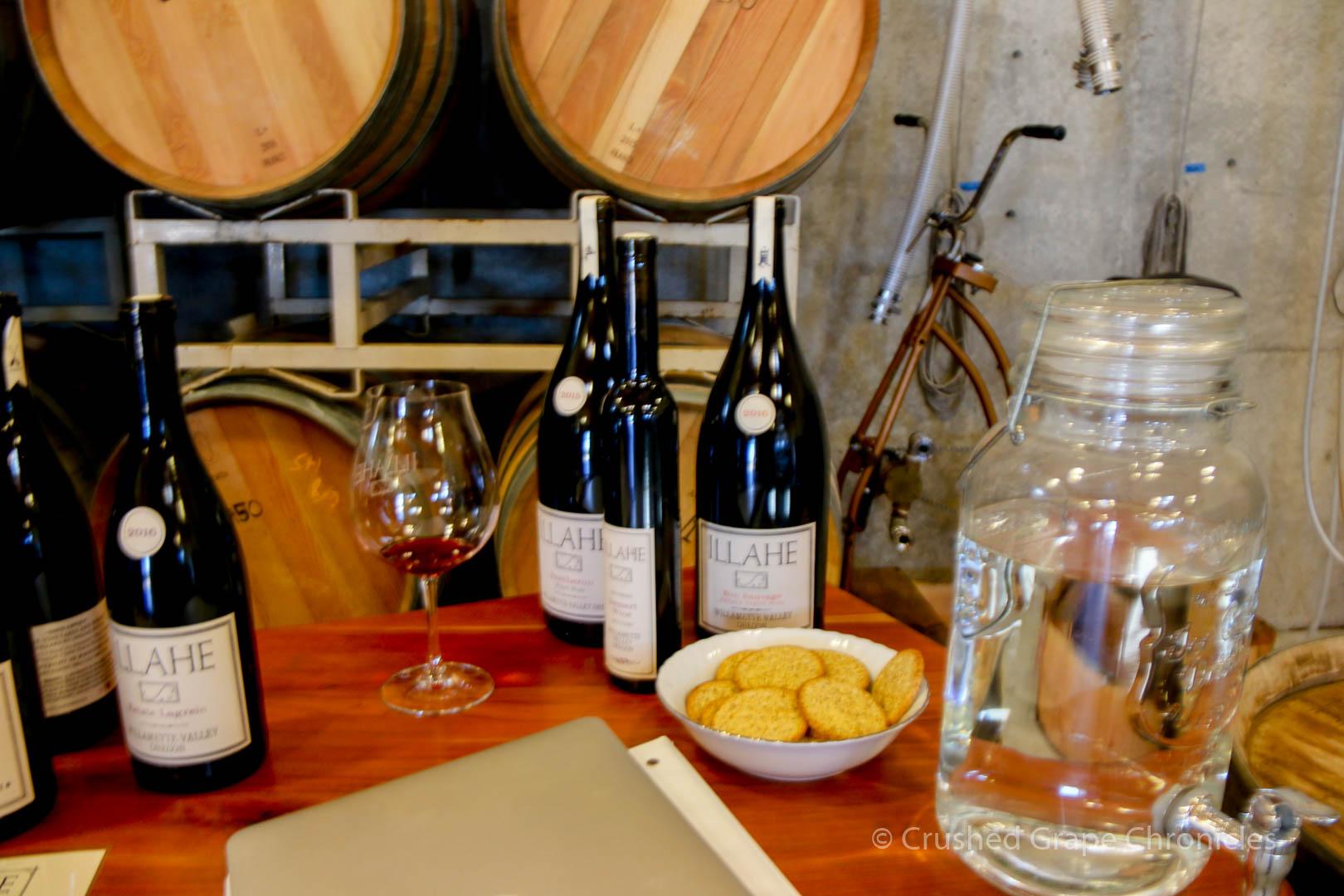 Illahe Vineyard Tasting room