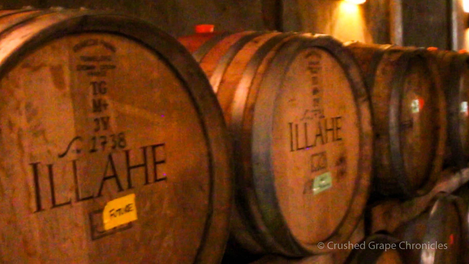 Illahe Vineyards Cellar