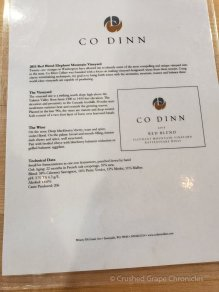 Co dinn Cellars Tasting Room