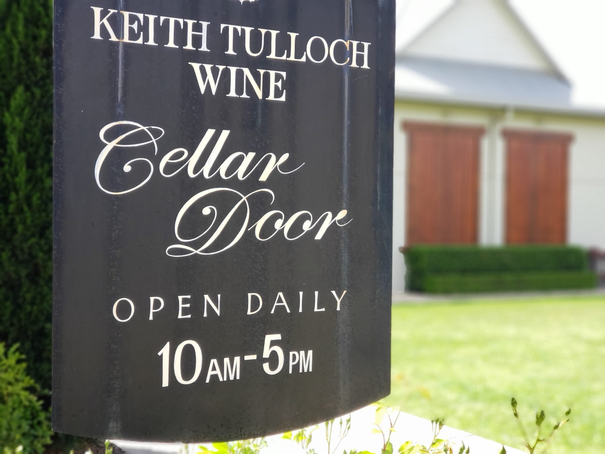 Keith Tulloch Wine Hunter Valley NSW Australia