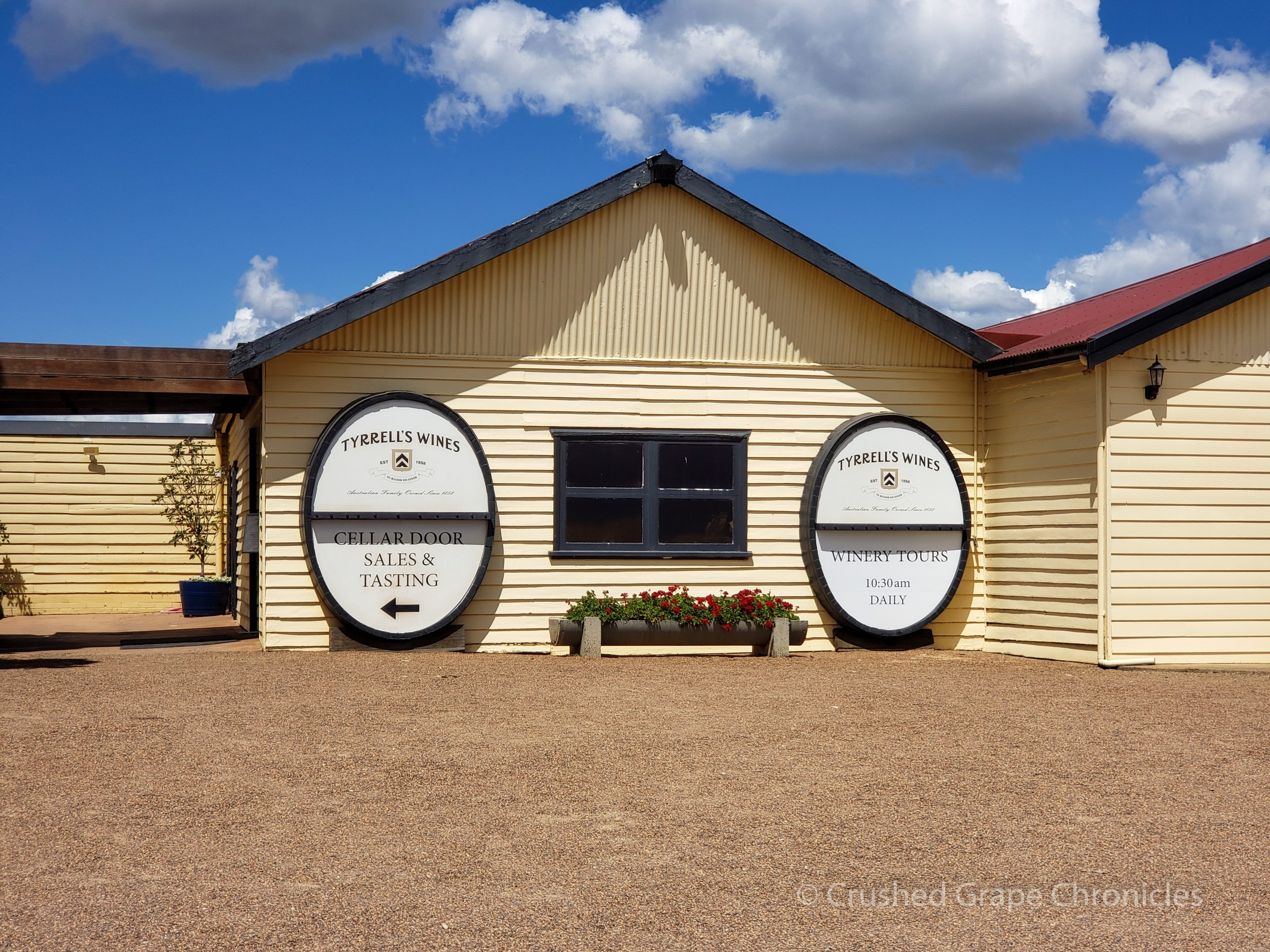 Tyrrell's Winery in Hunter Valley Australia