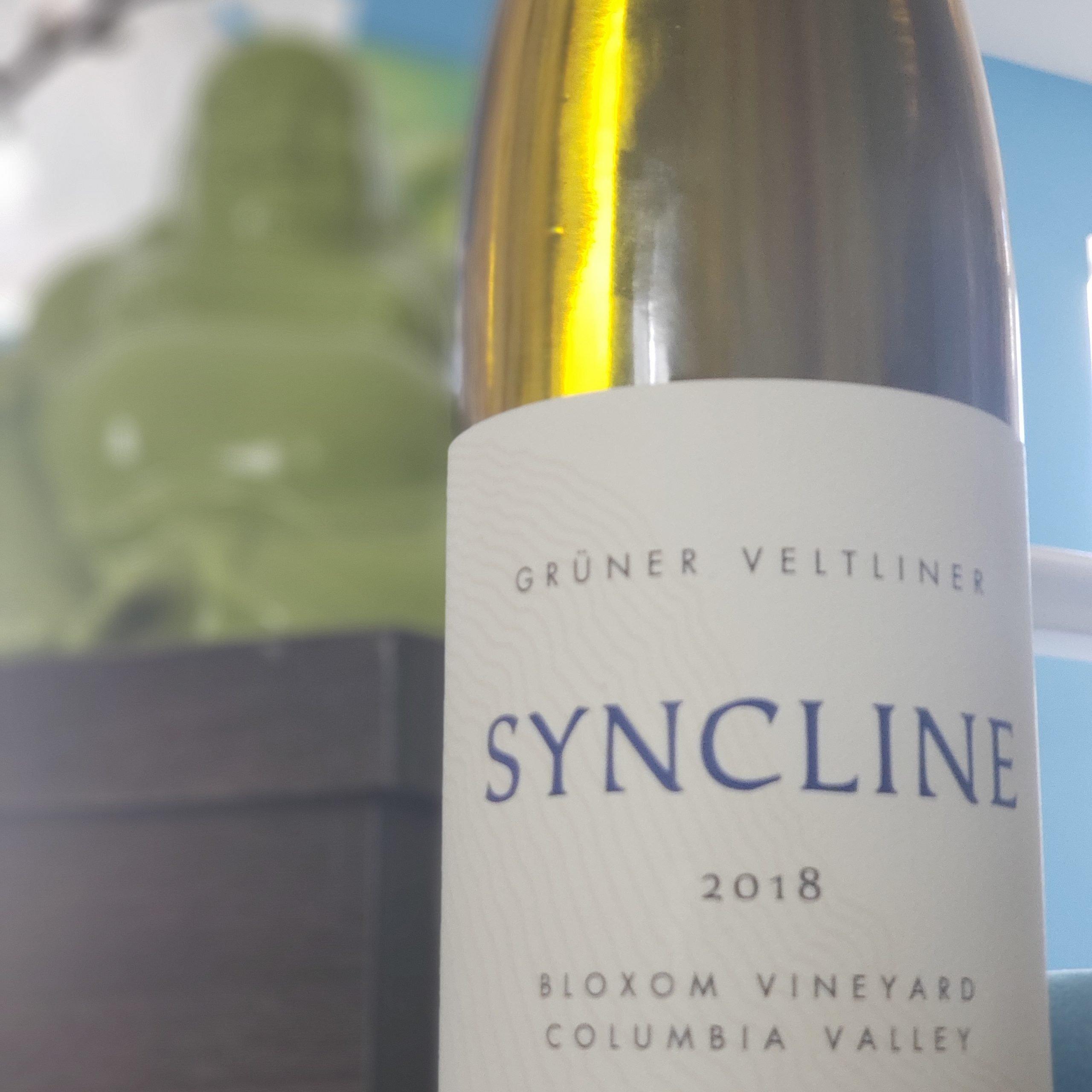 2018 Grüner Veltliner from Syncline #travelinabottle