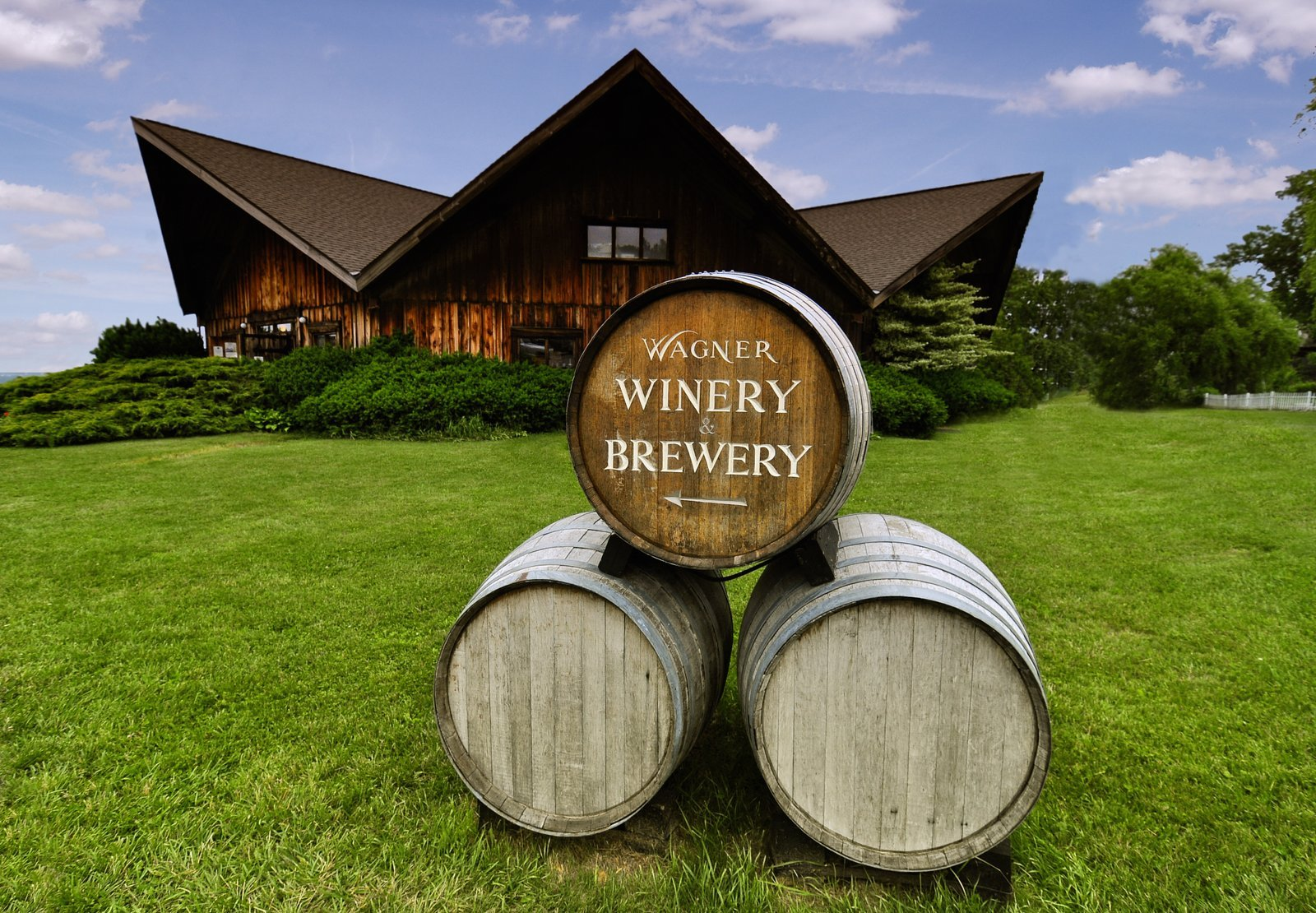 Wagner Winery on Seneca Lake Photo courtesy of Finger Lakes Wine Country