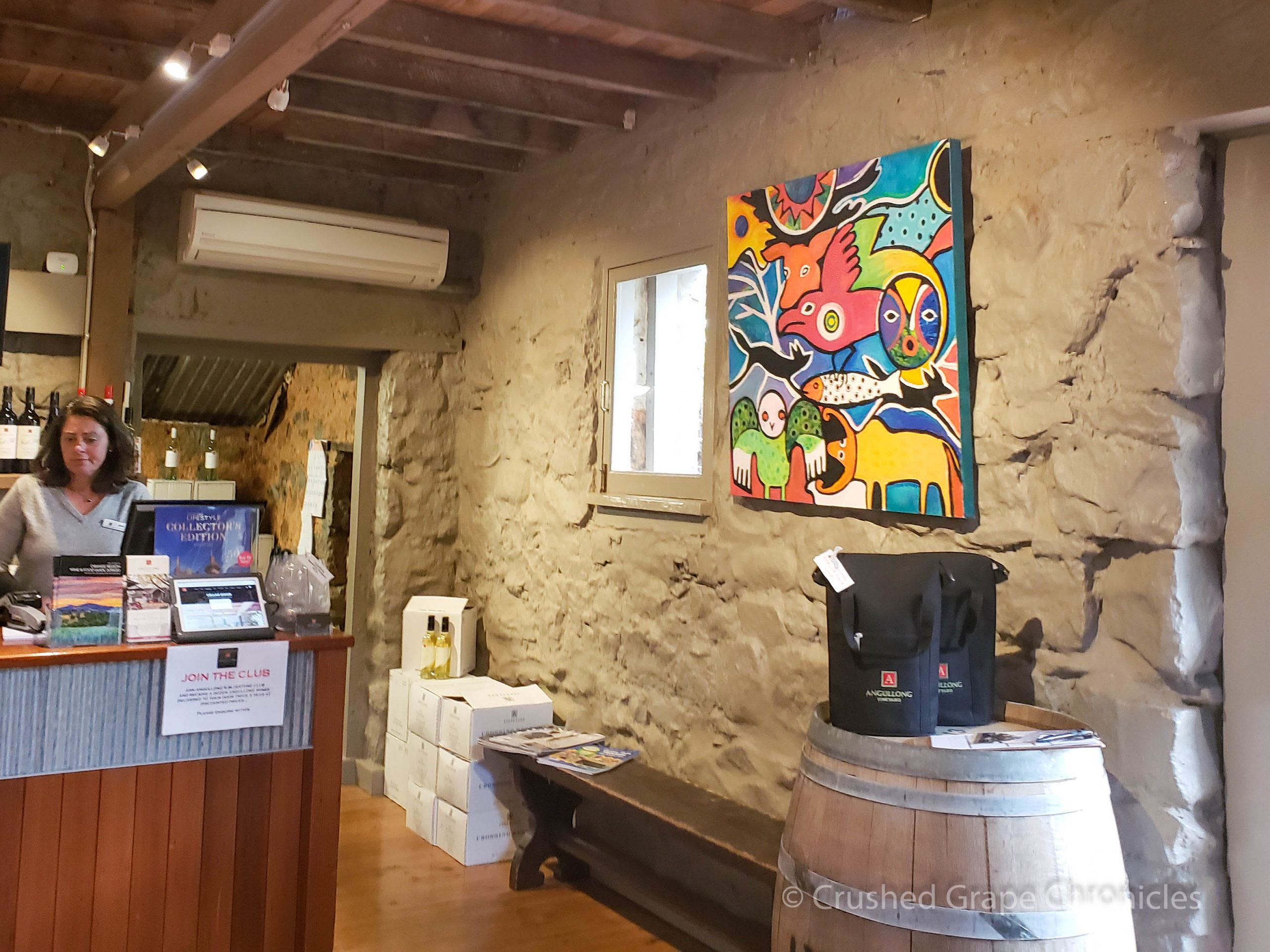 Angullong Vineyard Cellar door in Millthorpe, Orange NSW Australia