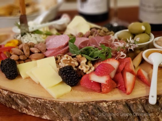 Cheese plate to pair with Cabernet Franc