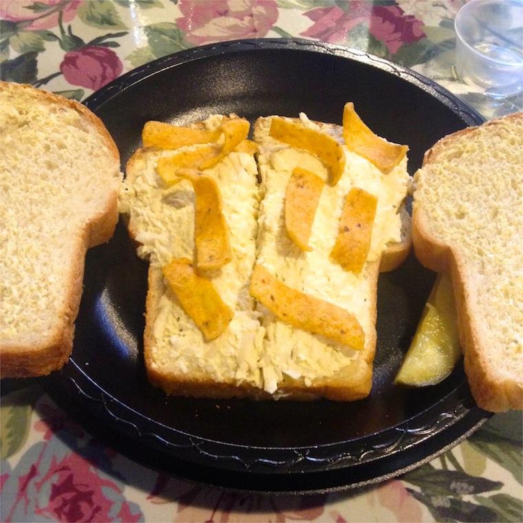 sandwich egg salad