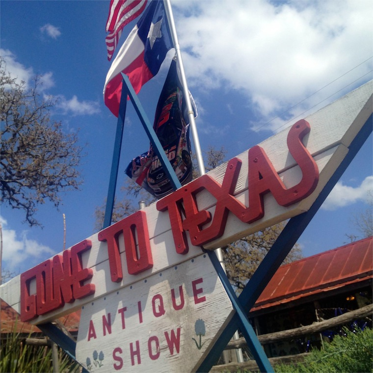 Gone to Texas Sign