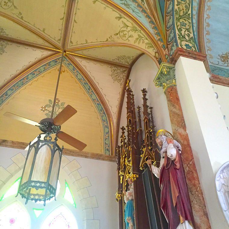 Painted Churches Fan