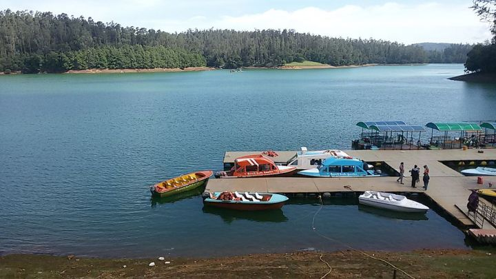 Pykara Lake near Ooty