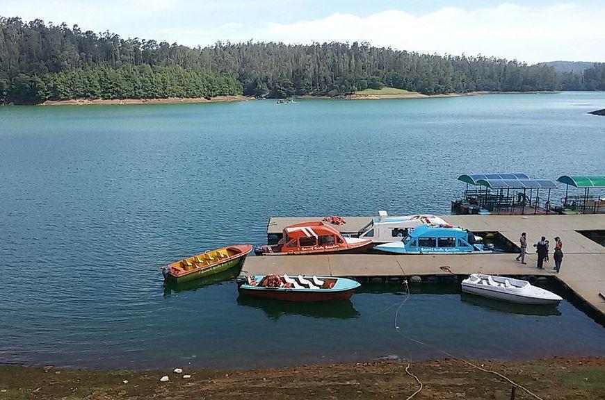 Pykara Lake near Ooty