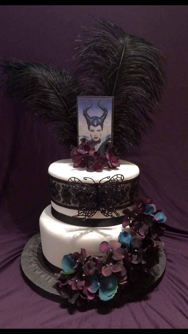Some Awesome Maleficent Cake Ideas Maleficent Themed Cakes