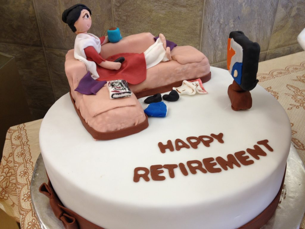 Some Fun Cake Ideas For Retirement Party