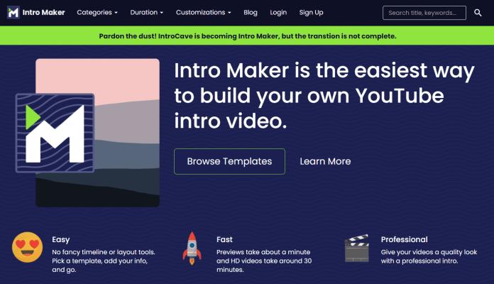 youtube intro maker