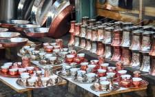 Detalhe no Bazar de Sarajevo