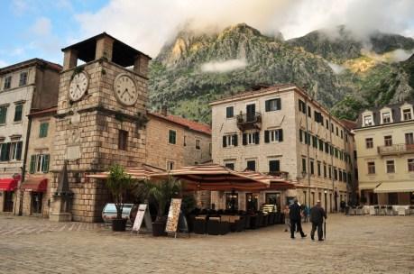 Praça Central de Kotor
