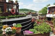 Praga: Cafés Flutuantes no rio Vltava