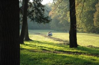 Romance no parque Stromovka