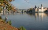 Da Ilha dos Caçadores, uma das melhores vistas para a Praga Clássica