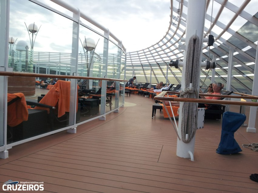 The One Sun Deck do MSC Yacht Club