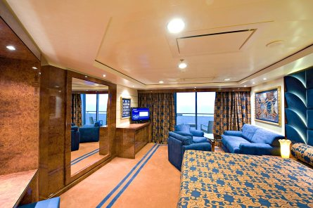 Deluxe Suite do MSC Splendida