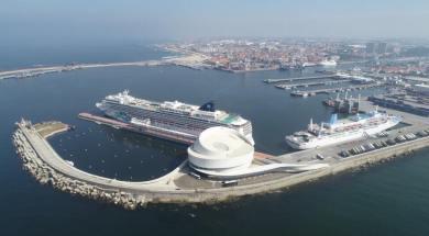 Norwegian Jade e Marella Spirit no Porto de Leixões