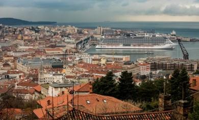 MSC Seaside em Trieste