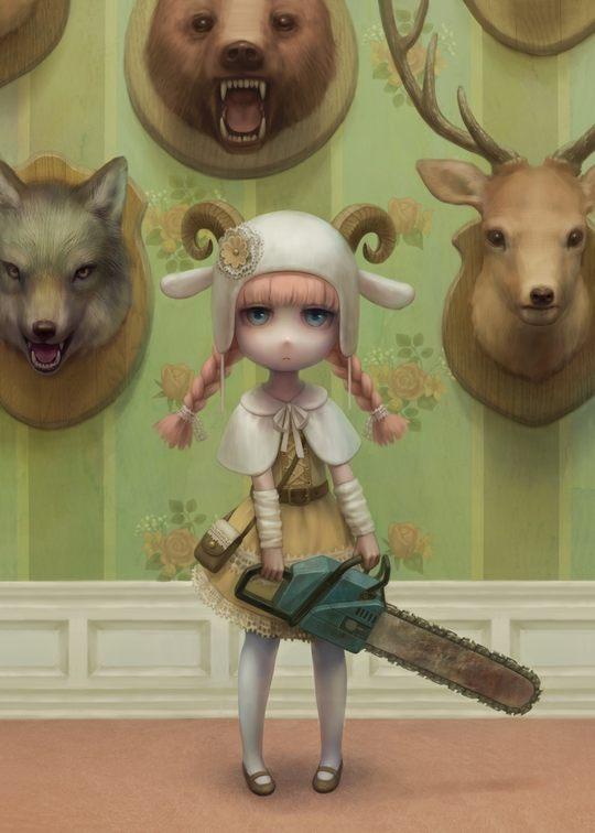 Beautiful Digital Art by Daiyou-Uonome3