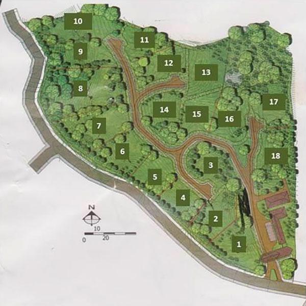Map of Mauel Antonio properties for sale