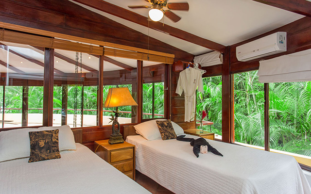 Discovery Beach House treehouse bedroom
