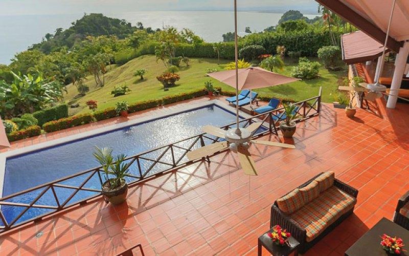 Manuel Antonio Vacation Rental VP Private Resort outdoor living and pool