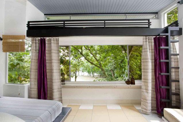 Manuel Antonio Home Rentals: Espadilla Ocean Club bedroom view