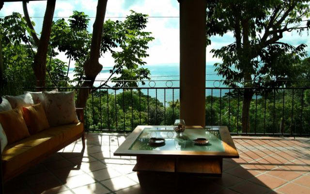 Vacation Homes Manuel Antonio: Casa Carolina master balcony