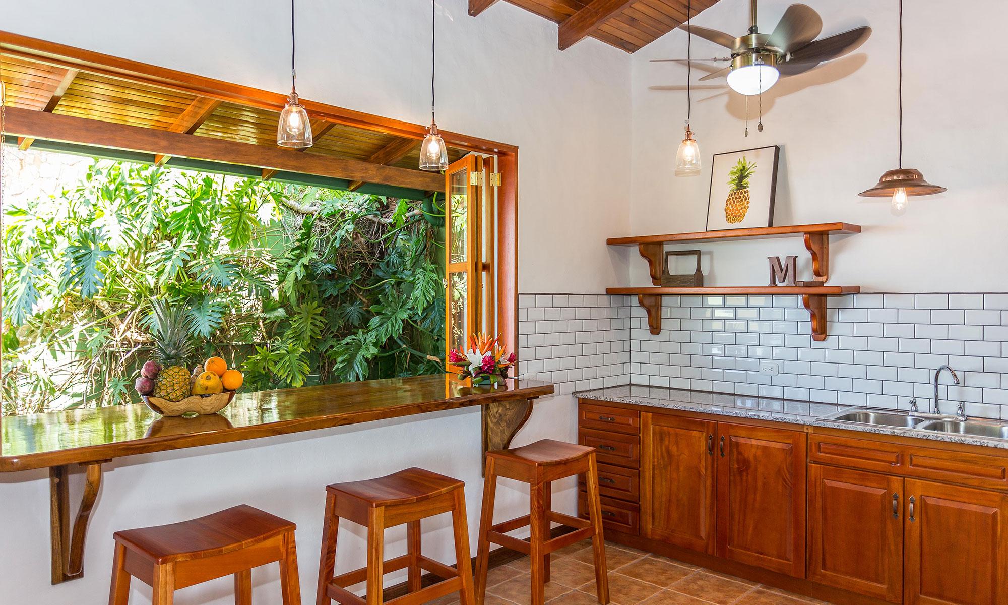 Villa Natura breakfast bar