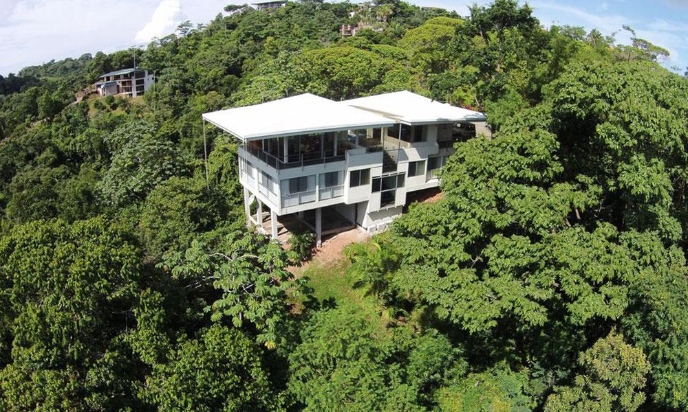Casa de los Suspiros aerial view