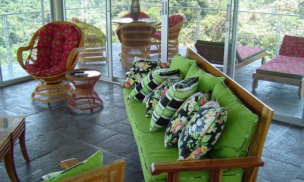 Casa de los Suspiros sitting area