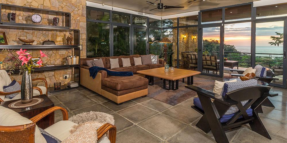 Casa Karma living room