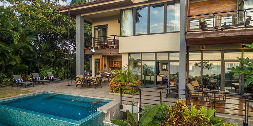 Casa Karma pool and patio
