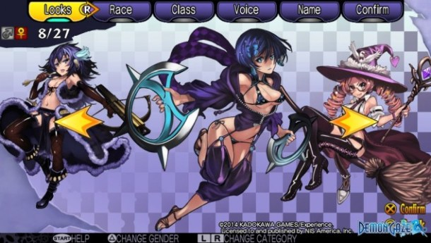 Demon Gaze Females 08