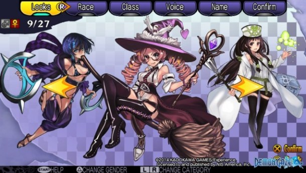Demon Gaze Females 09
