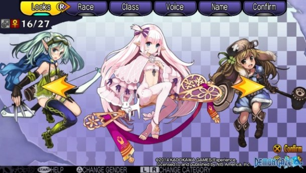 Demon Gaze Females 16