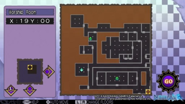 This is your typical dungeon RPG map. Looks fucking sugoi, doesn't it?