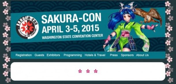 Sakura-Con 2015 Website