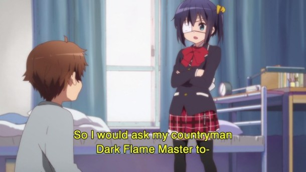 Love Chunibyo and Other Delusions - 02 - Countryman